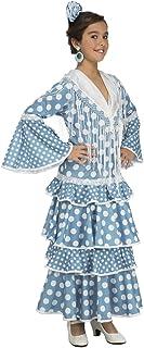 bf8b78703e My Other Me Me-204371 Disfraz de flamenca Huelva para mujer, Color turquesa,