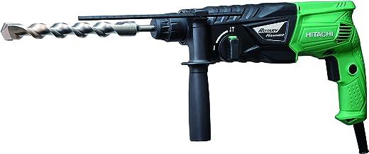Hitachi DH24PGWS DH24PG-Martillo Perforador 2,7 J, 730 W, 230 V, Negro, Verde, 0