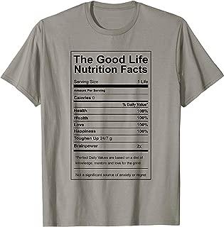 Success Nutrition Facts Entrepreneur Motivation TShirt
