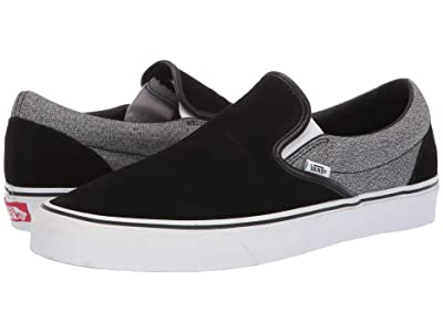Vans Classic Slip-Ontm ((Suede) Suiting/Black) Skate Shoes