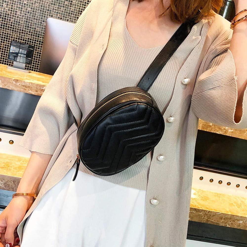 WKDYBD Fashion Women Shell Leather Messenger Shoulder Bag Chest Bag