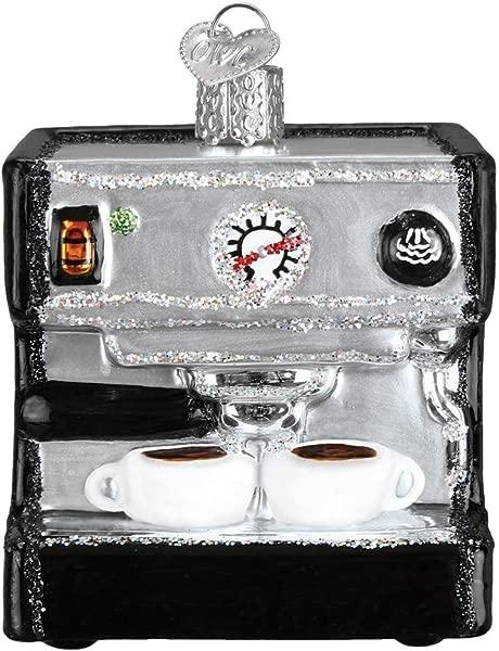 Old World Christmas 32319 Ornament Espresso Machine