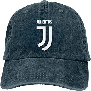 NNHAO Juventus Mens Denim Cap Adjustable Baseball Cap