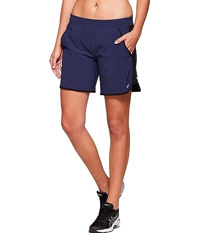 ASICS Fietro 7 Shorts (Peacoat) Women