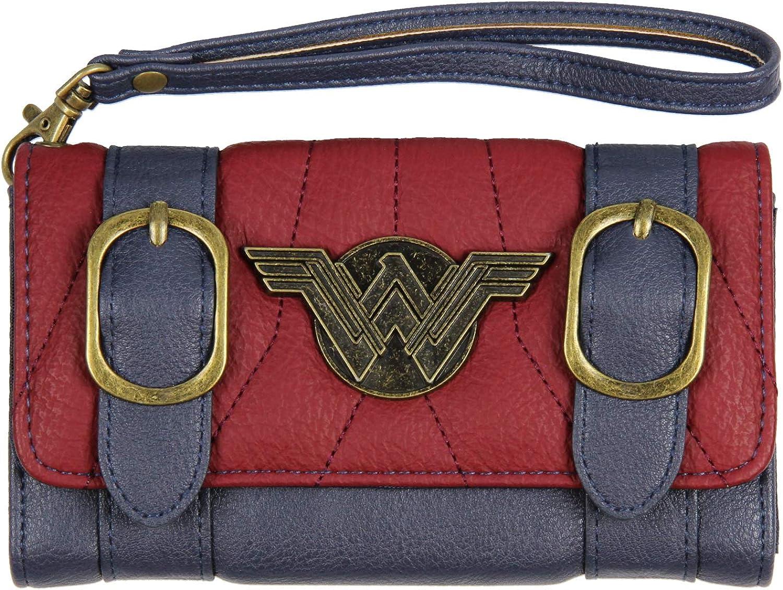 DC Comics Wonder Woman Wallet Memphis Mall Front Women's Flap Luxury