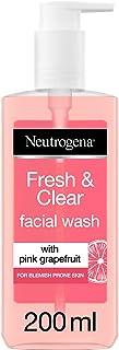 Neutrogena, Fresh & Clear Facial Wash, Pink Grapefruit & Vitamin C, 200 ml