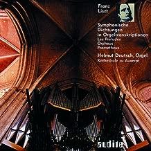 Franz Liszt: Symphonische Dichtungen in Orgeltranskriptionen