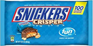 Snickers Fun Size Crisper Chocolate Candy Bars, 10.61 oz