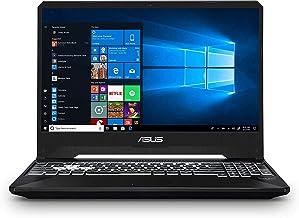 "ASUS TUF 15.6"" Full HD Display Gaming Laptop, AMD Quad-Core Ryzen 5 3550H, 8GB DDR4, 256GB PCIe SSD, 4GB GTX 1650, RGB Bac..."