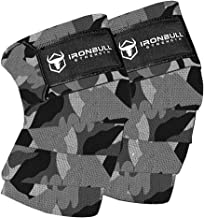 """Knee Wraps (1 Pair) - 80"""" Elastic Knee and Elbow Support & Compression - For Weightlifting, Powerlifting, Fitness, WODs & ..."""