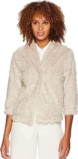 Womens Lite Cashmere Soft Fur Crop Jacket