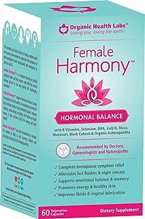 Female Harmony® - Hormonal Balance - 60 Veggie Capsules -Find Harmony & Balance!
