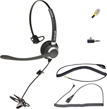 $69 » OvisLink Call Center Headset Compatible with Cisco Phone All Desktop Models