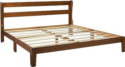 Amazon Com Olee Sleep Vc38sf02f Solid Wood Platform
