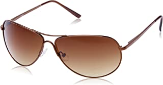 Fastrack Aviator Unisex Sunglasses - (M050BR5|64|Brown)