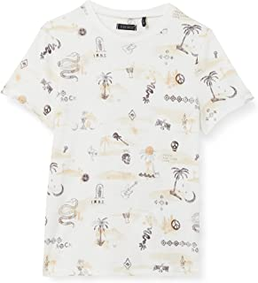 IKKS tee-Shirt Écru Thème Marrakech Et Rock Camiseta para Niñas