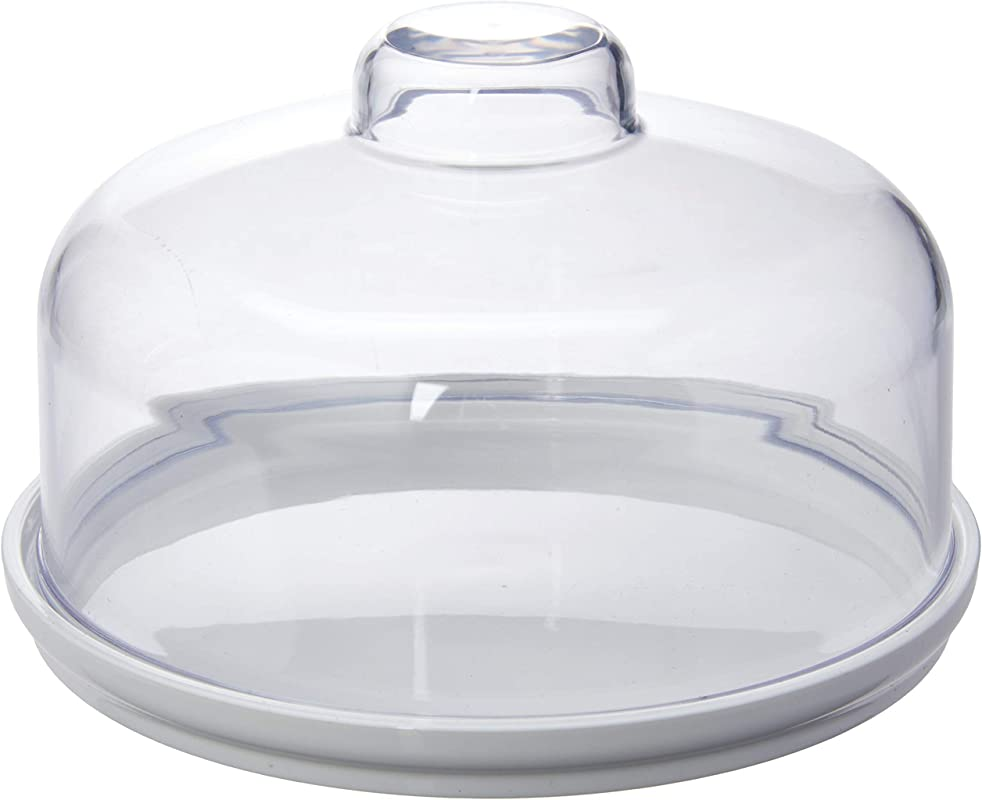 Coza Cheese Or Dessert Container Dome 5 7 Inches White