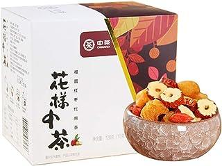 中茶 中粮集团 桂圆红枣 枸杞茶 代用茶 花草茶 八宝茶 120克/盒