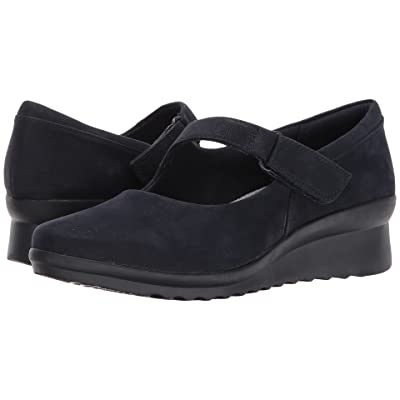 Clarks Caddell Yale (Navy) Women