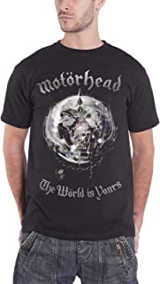 motorhead the world is yours t shirt
