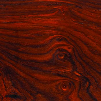 "Cocobolo, 2"" x 2"" x 6"", Exotic Hardwood Turning Blank"