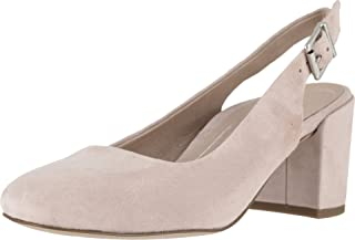Vionic Women's Plaza Nareen Slingback Heel - Ladies Block Heels with Concealed Orthotic Arch Support