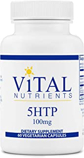 Vital Nutrients - 5HTP Vegan Formula - Amino Acid to Promote Emotional Well-Being, Support Appetite Control and Sleep Regu...