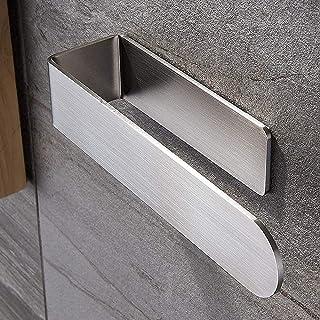 Bathroom Towel Holder, Hand Towel Rack for Bathroom Towel Bar Kitchen Stick on Shelf Ring Self Adhesive Ekvinor Wall Hange...