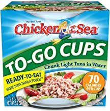 Chicken of the Sea Tuna Chunk Light Water Cup, 2-2.8-Ounce Cups (Pack of 8)