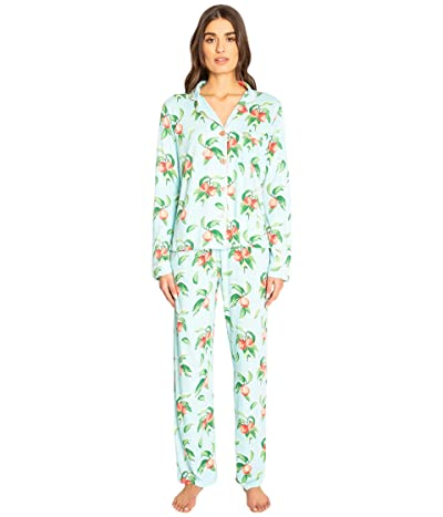 P.J. Salvage Playful Prints PJ Set (Mint) Women