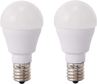 アイリスオーヤマ LED電球 E17 広配光タイプ 40W形相当 電球色 2個セット LDA4L-G-E17-4T52P