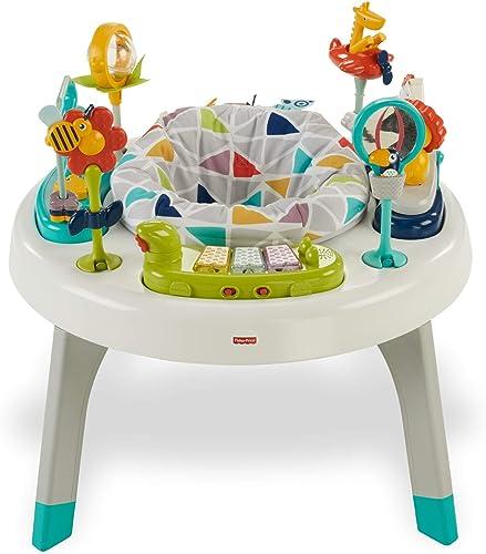 echa un vistazo a los más baratos Fisher-Price Fisher-Price Fisher-Price Centro de actividades 2 en 1, mesa de actividades para Niños y bebés +3m (Mattel FVD25)  sorteos de estadio