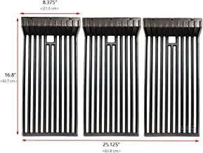 Uniflasy Heavy Duty Cast Iron Grill Cooking Grid Grates Replacement Parts for Broilmaster D3, Broilmaster P3, G3, S3, U3 Gas Grills