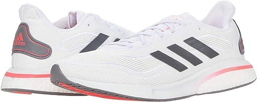 Footwear White/Grey Five/Signal Pink