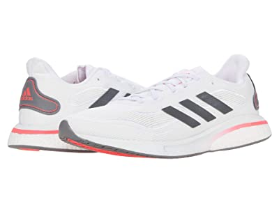 adidas Running Supernova (Footwear White/Grey Five/Signal Pink) Women