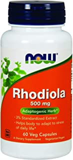 Rhodiola 500 mg - 60 Vegetarian Capsules by NOW