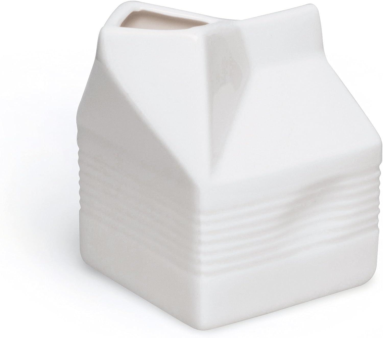 Excelsa Brick lechera, 250ml, cerámica, Blanco