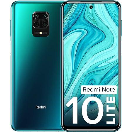 Redmi Note 10 Lite Aurora Blue 6GB RAM 128GB ROM | Alexa Built-in