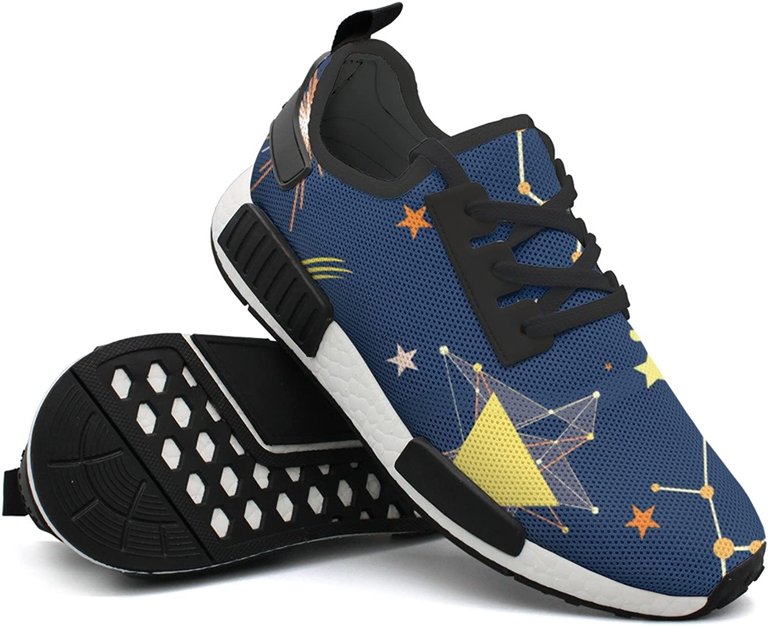 Fashion Sneaker For Men Constellation Space Stars-01 Original Lightweight Breathable Mesh Mens Basketball Sneakers