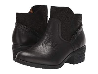 Comfortiva Corry (Black Wild Steer/Cow Suede) Women