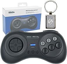 Mcbazel M30 2.4G Wireless Gaming Gamepad Controller for Sega Genesis 1 Mega Drive 1 with Gam3Gear Keychain