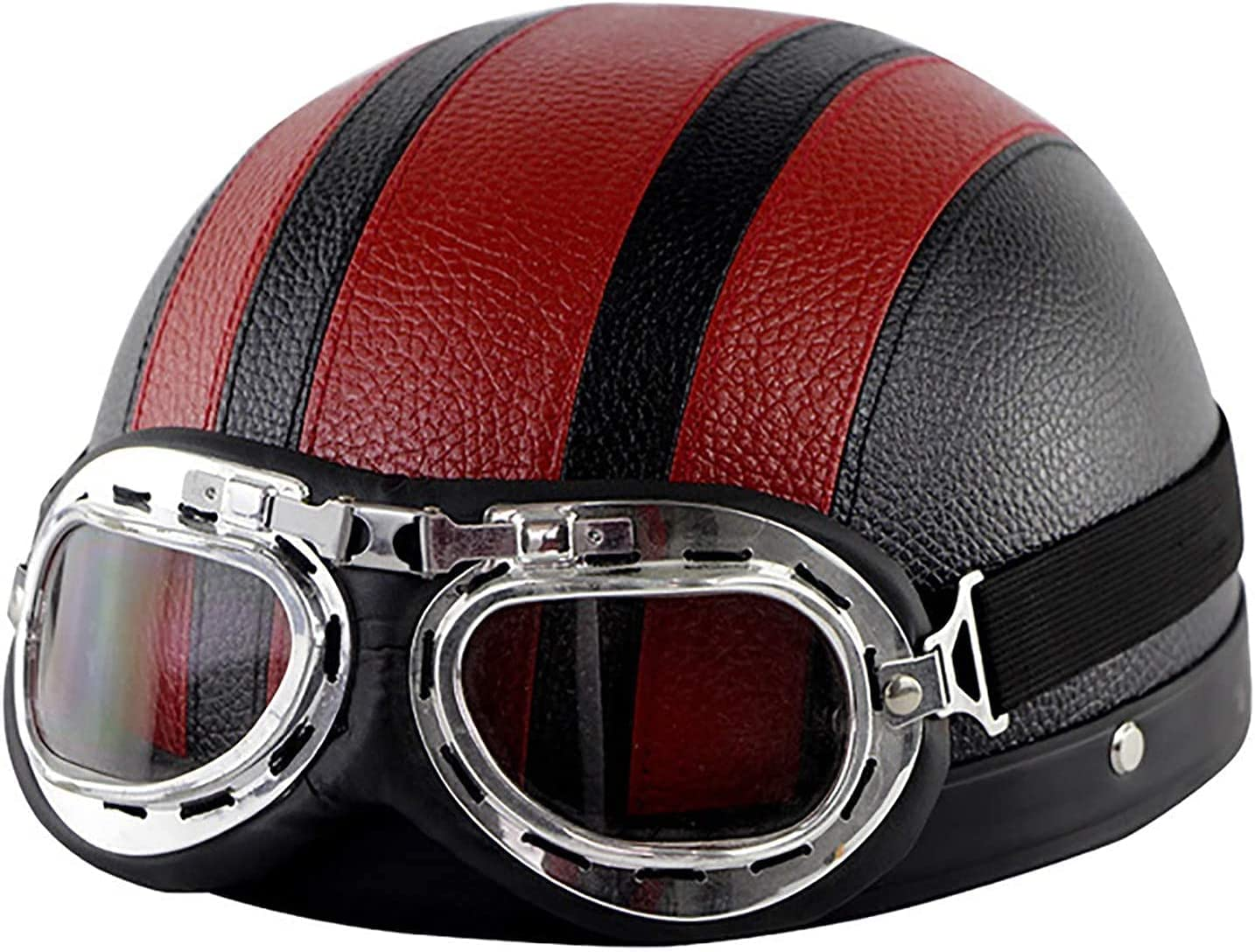 Motorcycle Open Face At the price of surprise Half Helmet She Retro Style Department store