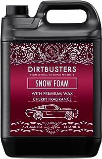 Dirtbusters Snow Foam Shampoo, reinigingsschuim, professionele auto-reiniger, veilig, niet giftig, met hoogglanswas en zoe...
