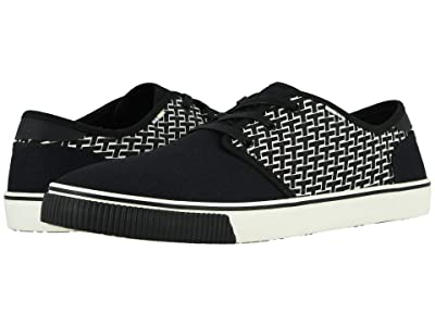 TOMS Carlo (Black Pattern Print) Men