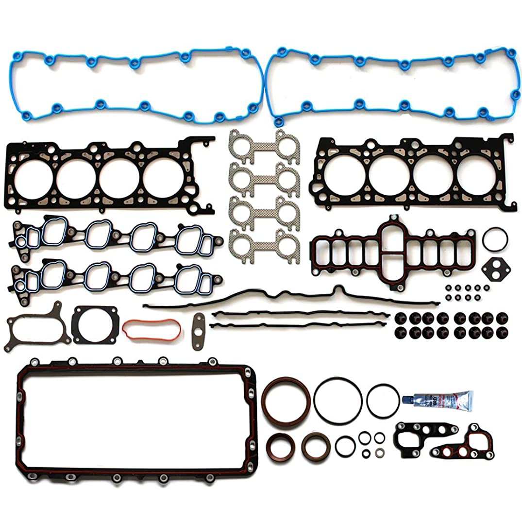 ECCPP Full Gasket with Head Sets Replacement for Automotive Replacement Engine Full Head Gasket Kits for Ford F-150 2002-2003 4.6L V8 SOHC VIN 6