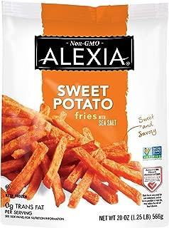 Alexia Sweet Potato Fries with Sea Salt, Non-GMO Ingredients, 20 oz (Frozen)
