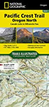 Pacific Crest Trail, Oregon North [Cascade Locks to Willamette Pass] (National Geographic Topographic Map Guide (1004))