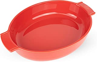 Peugeot Appolia, 13.6 x 10.1 x 2.9 inch interior Oval Baker, Red