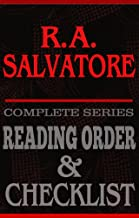 R.A. Salvatore: Complete Series Reading Order & Checklist (Great Authors Reading Order & Checklists Book 5)
