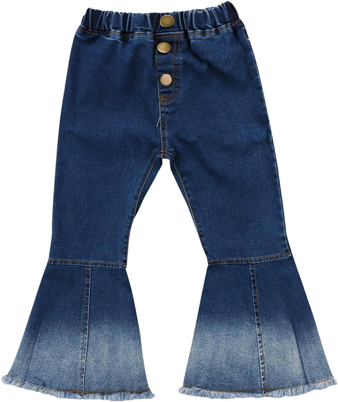Little Trust Girl's Vintage Jeans Pants Skinny Denim New product!! Bell-Bottoms